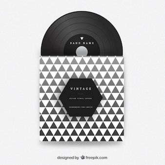 Couverture en vinyle Triangles