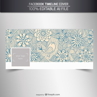 Couverture facebok naturelle Sketchy