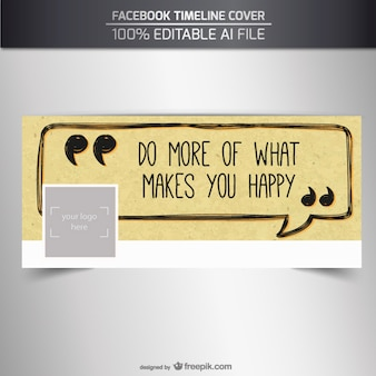 Couverture facebook positive