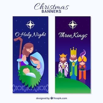 Crèches de la scène de la Nativité