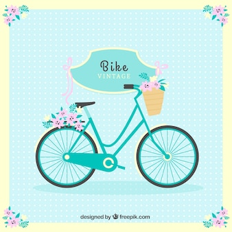 Cute bike background