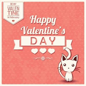 Day background design de la Saint-Valentin