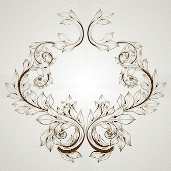 Décor art retro art emblème