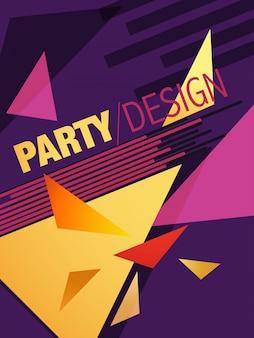 Dépliant de brochure abstraite vectorielle dépliant et conception de modèle