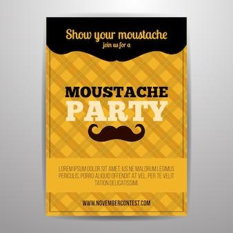 Dépliant du parti Movember