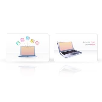 Design de bannière pour ordinateur portable