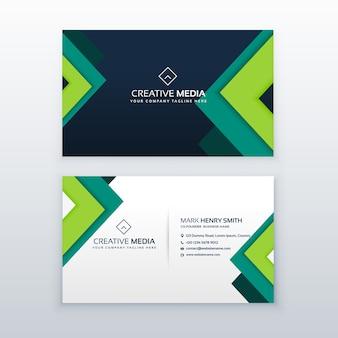 Design de carte de visite élégant pour votre profession