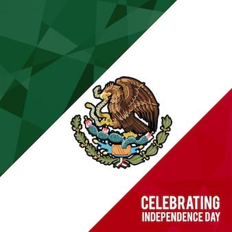 Design de fond de la journée de l'indépendance du Mexique