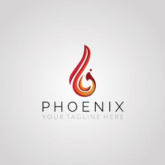 Design du logo vectoriel Phoneix