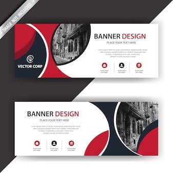 Design élégant de bannière