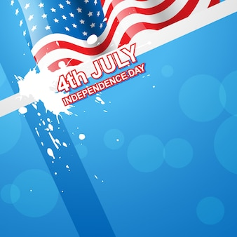 Design élégant de jour de l'indépendance américaine