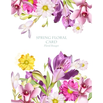 Design Floral background
