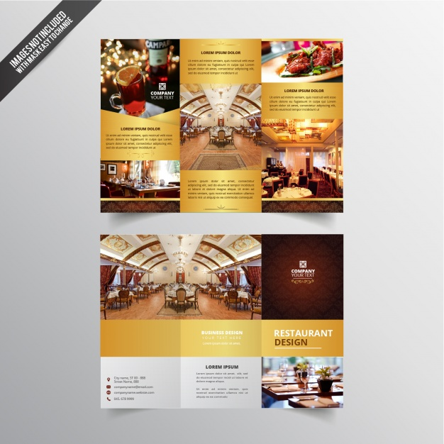 Design flyer restaurant