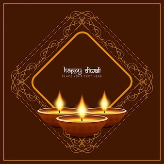 Design Happy fond religieux Diwali