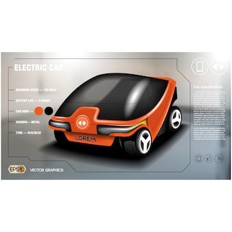 Design moderne de fond de voiture