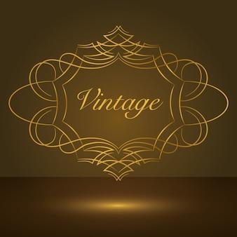 Design Vintage frame