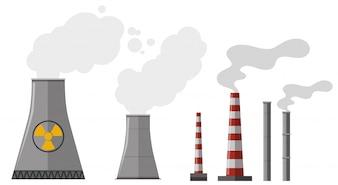 Différents types de cheminée