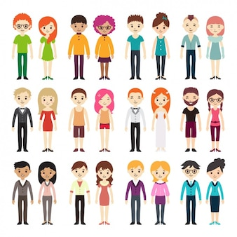 Différents types de collecte de couples