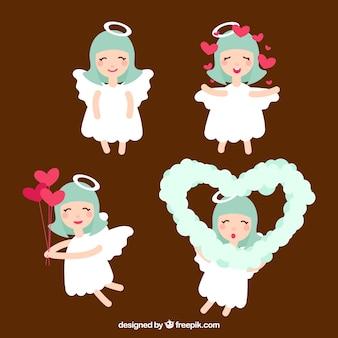 Divers anges de valentine