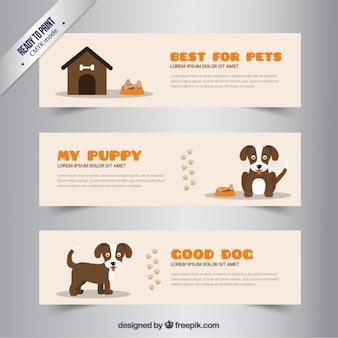 Dog bannières