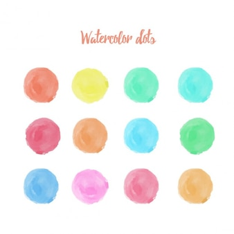 Dots Aquarelle