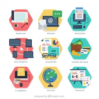 E-commerce étapes de l'entreprise