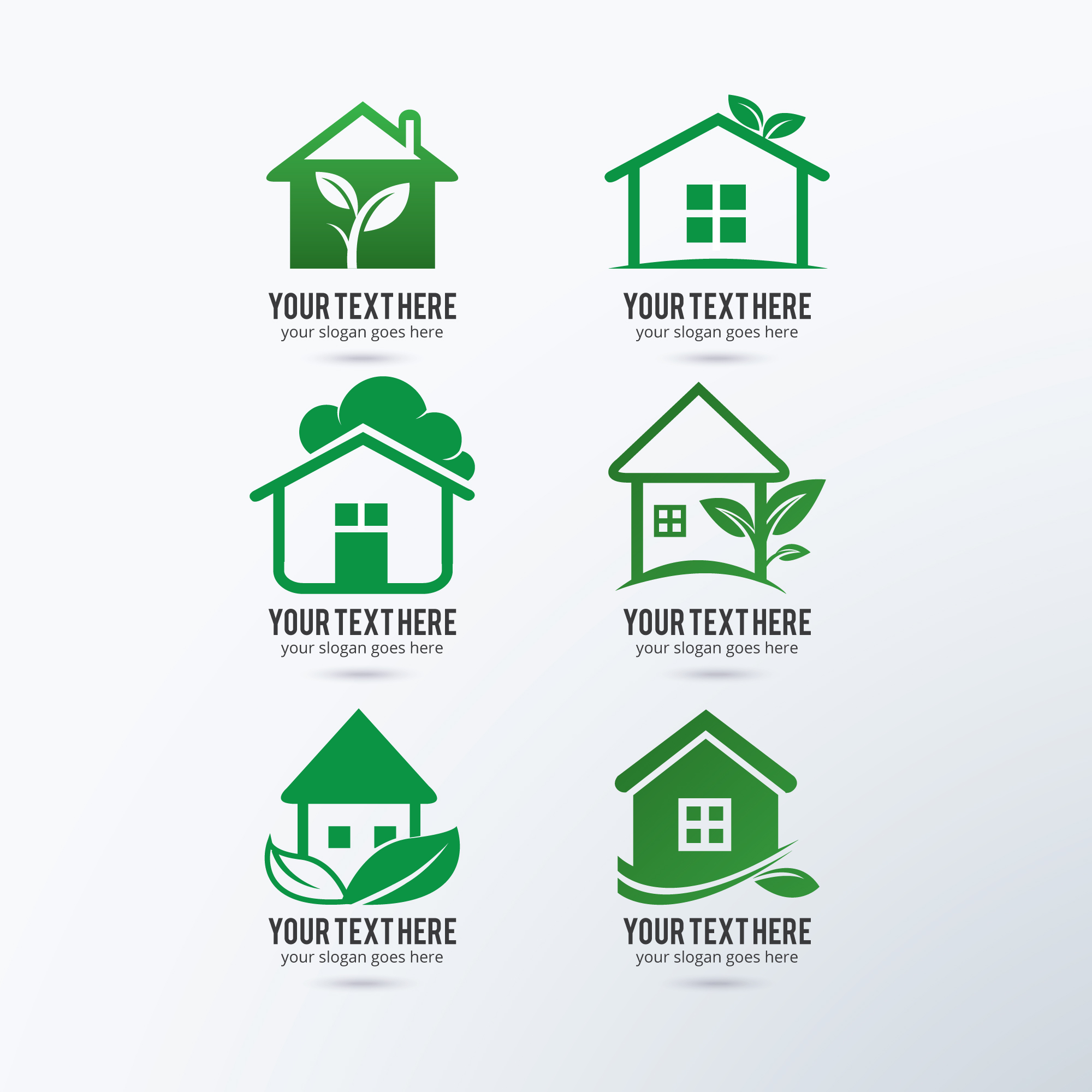 Eco logos collection