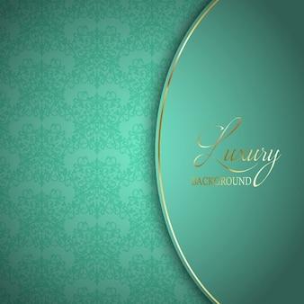 Elegant background avec design décoratif