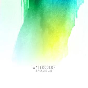 Elégant fond coloré aquarelle splash