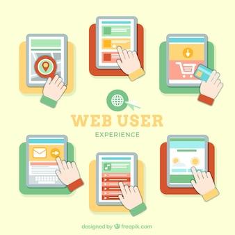 éléments d'expérience utilisateur Web