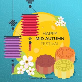 Éléments de célébration, festival mi-automne