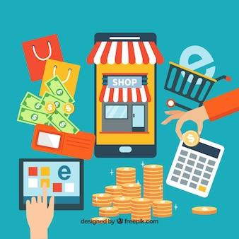 Eléments de commerce électronique