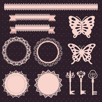 éléments de conception de dentelle