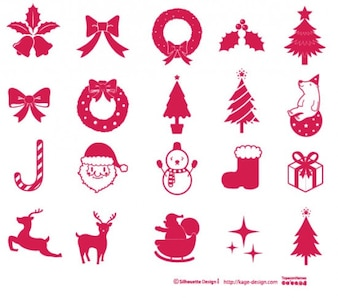 éléments de Noël 2
