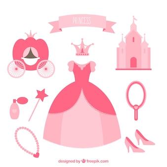 éléments de Princesse
