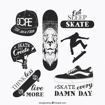 éléments de skate