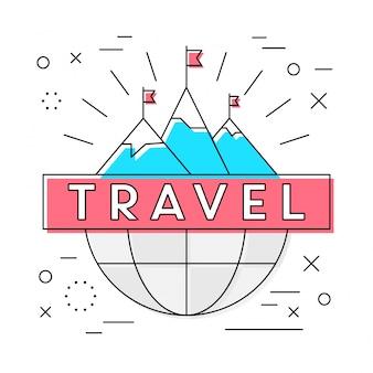 Emblème de transport linéaire