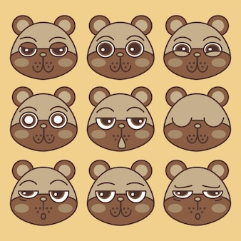 Emoticons, ours