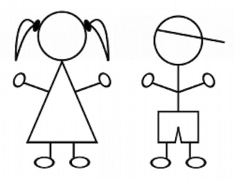 enfants bâtons