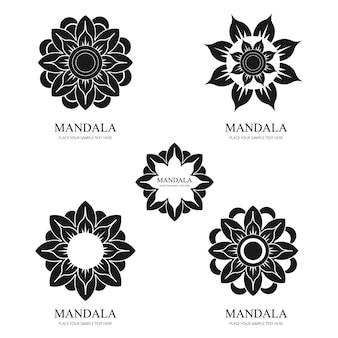 Ensemble de mandala moderne