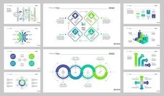 Ensemble de modèles de 10 outils de travail en équipe