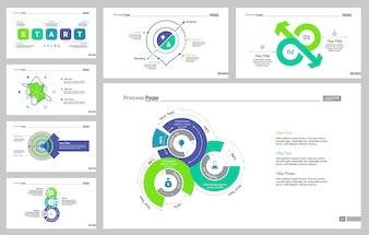 Ensemble de modèles de diapositives de sept statistiques
