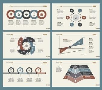 Ensemble de modèles de diapositives Six Analytics