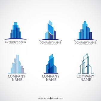 Entreprise de construction modèles de logo