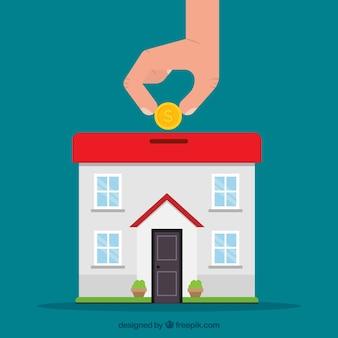 Épargner pour une maison