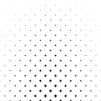 Etoiles noires sur fond blanc