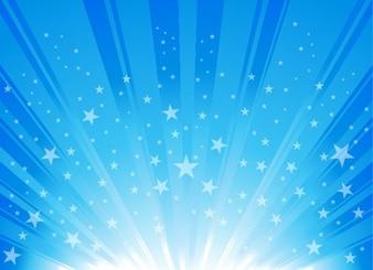 explosion étoile éclater fond graphique vectoriel