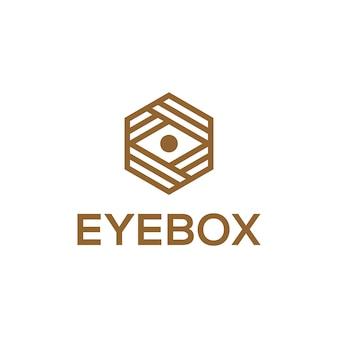 Eye Box Symbol Logo