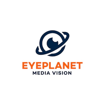 Eye Planet Logo