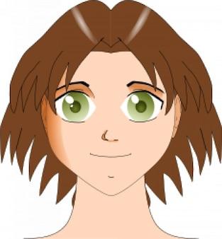 face manga